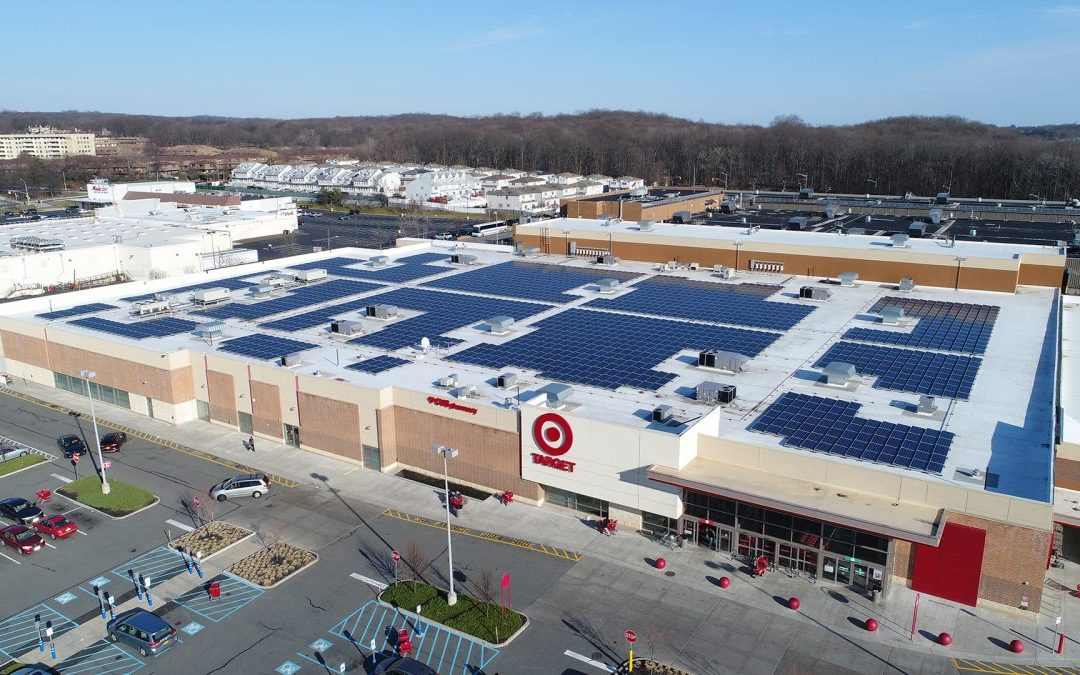 Large Corporations Lead in Solar